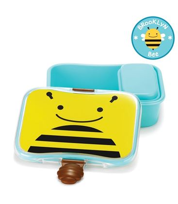 FIAMBRERA ABEJA SKIP HOP ZOO - SKIPHOP-ZOO-KIDS-LUNCH-KIT-BEE2_4