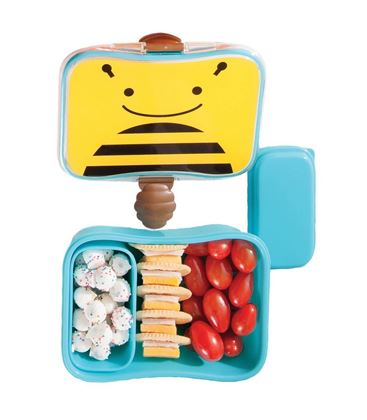 FIAMBRERA ABEJA SKIP HOP ZOO - SKIPHOP-ZOO-KIDS-LUNCH-KIT-BEE3