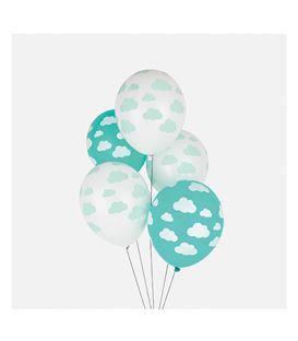 SET 5 GLOBOS NUBES - -5-CLOUD-BALLOONS
