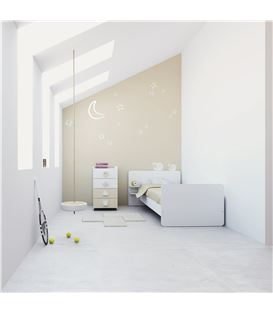 Set 2 alfombras infantiles blanco - K350-2315-DISM