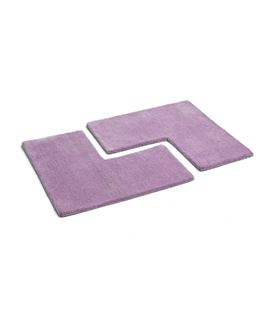 Set 2 alfombras infantiles violeta - M121-2700