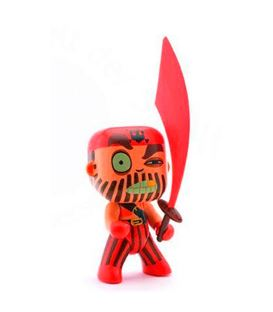 CAPTAIN RED ARTY TOYS - CAPTAIN-RED-DJECO