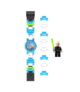 RELOJ STAR WARS LUKE SKYWALKER - RELOJ-LEGO-LUKE-SKYWALKER-COMPLETO