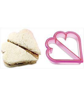 CORTADOR SANDWICHES CORAZONES - HEART-CUTTER