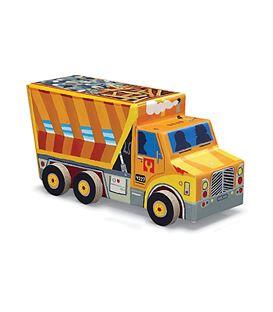 PUZZLE VEHICLE DUMP TRUCK 48PCS - TRUCK-BERTOY