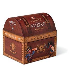 PUZZLE TREASURE CHEST 48PCS - 384091-1B