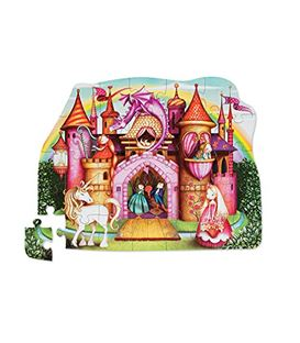 SHAPED BOX PUZZLE PRINCESS PALACE - PUZZLE-PRINCESS