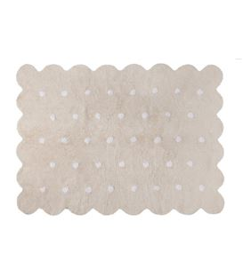 ALFOMBRA GALLETA BEIGE - GALLETA-CREMA
