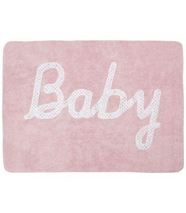 ALFOMBRA BABY PETIT POINT ROSA - BABY-PETIT-POINT-ROSA