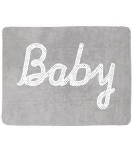 ALFOMBRA BABY PETIT POINT GRIS