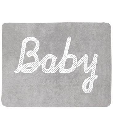 ALFOMBRA BABY PETIT POINT GRIS - BABY-PETIT-POINT-GRIS