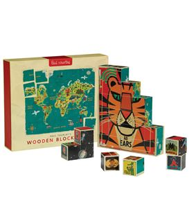 PUZZLE BLOQUES MAPA MUNDI - BLOCK_GAME_TOY_SET