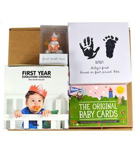 Pack regalo para bebés de 0-12 meses: Mi primera vez - PACK-PRIMERA-VEZ