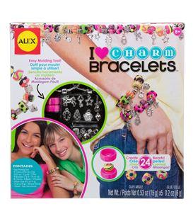 I HEART CHARM BRACELETS - CREABRAZALETES