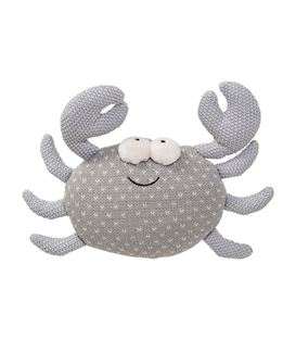 KNITTED TOY GREYCOTTON - COJIN-CANGREJO