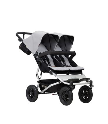 MOUNTAIN BUGGY DUET V3 SILVER - MOUNTAIN_BUGGY_DUET_SILVER
