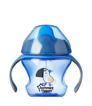 VASO APRENDIZAJE TT EXPLORA AZUL - TOMMEE-TIPPEE-FIRST-CUP-150ML-4-MONTHS-BLUE