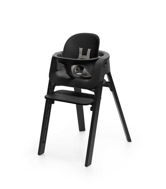 BABY SET STOKKE STEPS BLACK - STOKKE_STEPS_BLACK