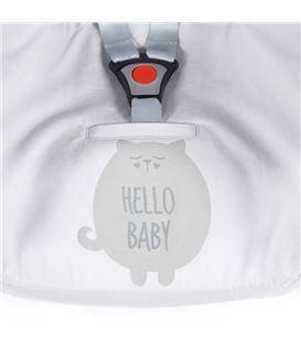 COLCHONETA GRUPO 0 VERANO HELLO BABY GRIS - FUNDA-VERANO-GRUPO-0-HELLO-BABY-GRIS-