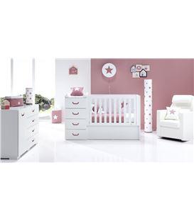 LAMPARA PARED INFANTIL ESTRELLA ROSA FONDO BLANCO - LAMPARA_PARED_ESTRELLA_ROSA_ALONDRA2