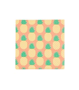 20 SERVILLETAS TROPICAL SUMMER PINEAPPLE