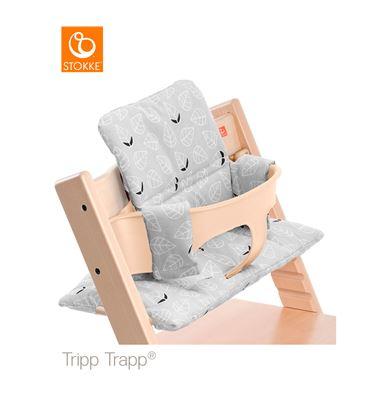COJIN TRIPP TRAPP HOJAS GRISES - COJIN-TRIPPTRAPP-HOJAS-GRISES