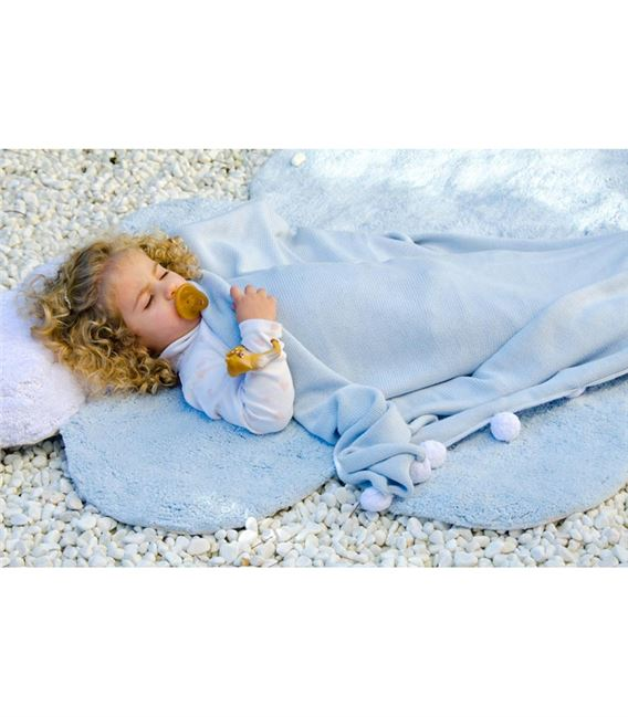 ALFOMBRA LAVABLE PUFFY DREAM AZUL - ALFOMBRA-PUFFY-DREAM-LORENA-CANALS3