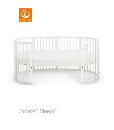 EXTENSION CUNA A CAMA JUNIOR STOKKE SLEEPI BLANCO - 00105318407557____3__640X640