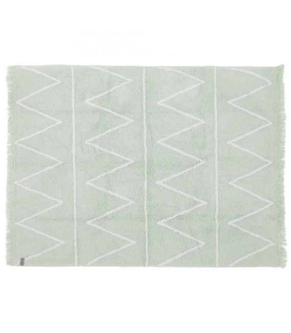 ALFOMBRA LAVABLE HIPPY GREEN - HIPPY-MINT