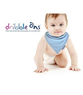 DRIBBLE AZUL CLARO - BABY_DRIBBLE_ONS_LOGO