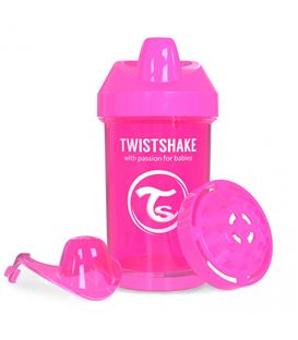 VASO TWISTSHAKE CRAWLER CUP ROSA 300ML 8+M - TWISTSHAKE-CRAWLER-CUP-ROSA