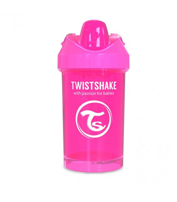 VASO TWISTSHAKE CRAWLER CUP ROSA 300ML 8+M - TWISTSHAKE-CRAWLER-CUP-ROSA-2