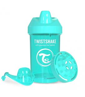 VASO TWISTSHAKE CRAWLER CUP TURQUESA 300ML 8+M