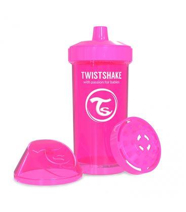 VASO TWISTSHAKE KID CUP ROSA 360ML 12+M - TWISTSHAKE-KID-CUP-ROSA