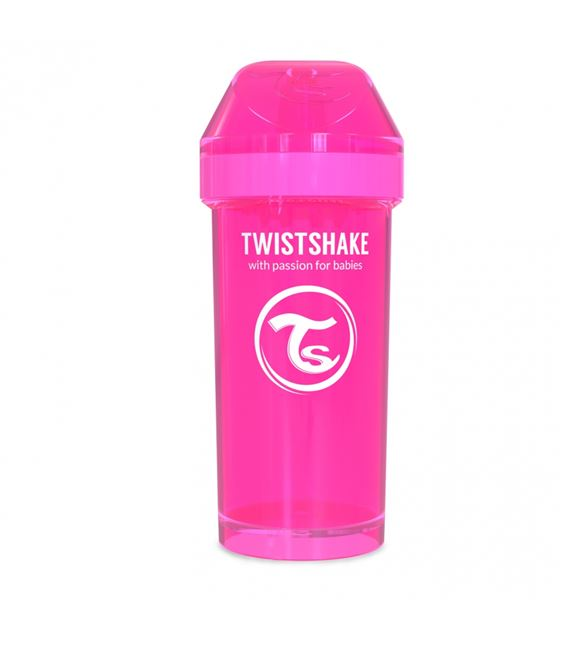 VASO TWISTSHAKE KID CUP ROSA 360ML 12+M - TWISTSHAKE-KID-CUP-ROSA-2