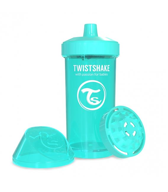 VASO TWISTSHAKE KID CUP TURQUESA 360ML 12+M - TWISTSHAKE-KID-CUP-TURQUESA