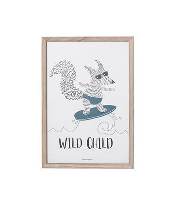 CUADRO ZORRO WILD CHILD - CUADRO-FOX