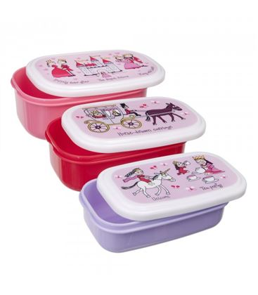 SET DE 3 CAJAS DE SNACKS PRINCESAS TYRRELL KATZ - CAJAS-SNACKS-PRINCES