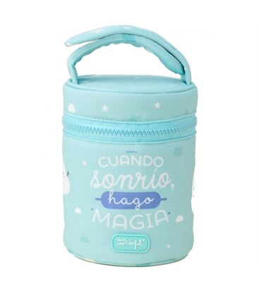 TERMO SOLIDO 0.5L A. INOX.+ FUNDA UNISEX MR WONDERFUL - TERMO-LAKEN-UNISEX-MRWONDERFUL-0.5