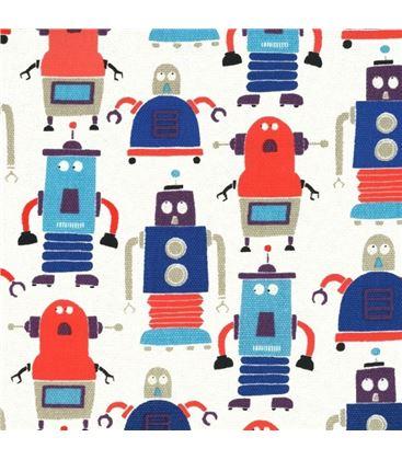 MOCHILA MINI MESSENGER ROBOTS - BACKPACK-MINI-MESSENGER-LES-ROBOTS