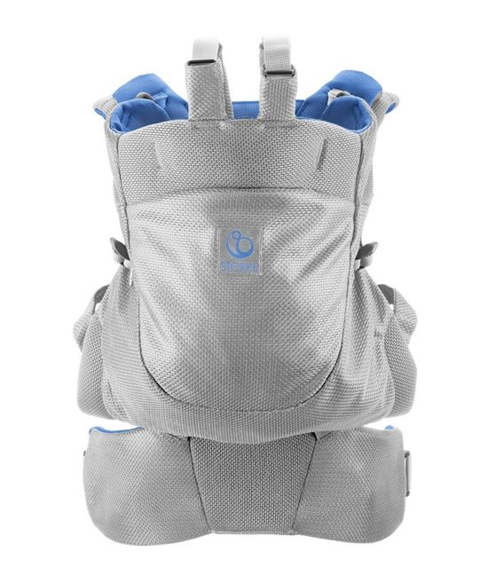 MOCHILA PORTABEBE STOKKE MY CARRIER FRONT AND BACK MARINA FRESH - MOCHILA-PORTABEBE-MARINA-MESH3