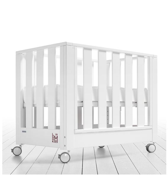 MINICUNA COLECHO LOOK AT ME BLANCO SIN TEXTIL CON COLCHON - MINICUNA-LOOK-AT-ME-BLANCO-SIN-TEXTIL-4
