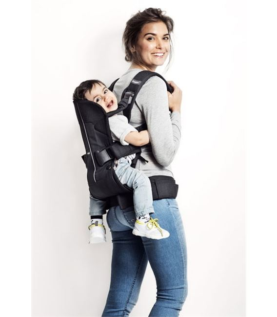 MOCHILA PORTABEBE ONE NEGRO COTTON MIX BABYBJORN - BABY-CARRIER-ONE-BACK-CARRY-BABYBJORN5