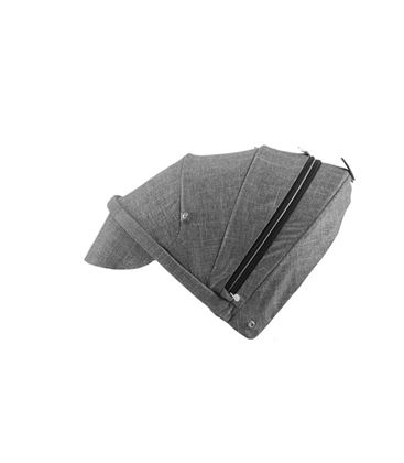 STOKKE SCOOT CAPOTA BLACK MELANGE - CAPOTA-SCOOT-BLACK-MELANGE