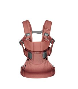 MOCHILA PORTABEBE ONE BABYBJORN ROSA TERRACOTA BE YOU - PORTABEBE-BE-YOU-ROSA-TERRACOTA-2
