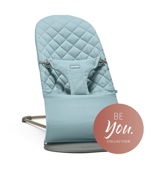 HAMACA BABYBJORN BLISS ALGODON TURQUESA VINTAGE BE YOU - HAMACA-BE-YOU-TURQUESA