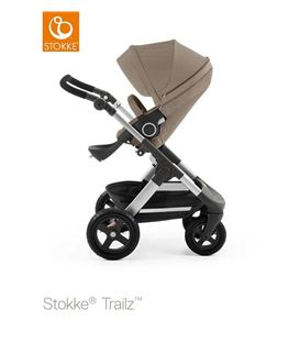 STOKKE TRAILZ MARRON CON RUEDAS TODOTERRENO - STOKKE-TRAILZ-TODOTERRENO-MARRON