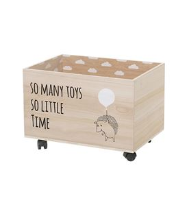 CAJA ALMACENAJE CON RUEDAS SO MANY TOYS SO LITTLE TIME - CAJA-SO-MANY-TIME-2