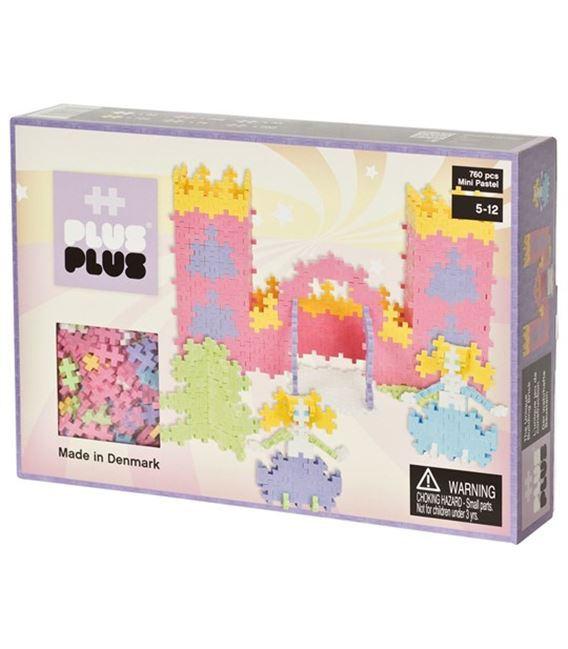 PLUSPLUS MINI PASTEL CASTLE 760P - X_LARGE