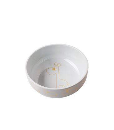 BOL C/CONTORNO YUMMY GOLD/GREY - 10745